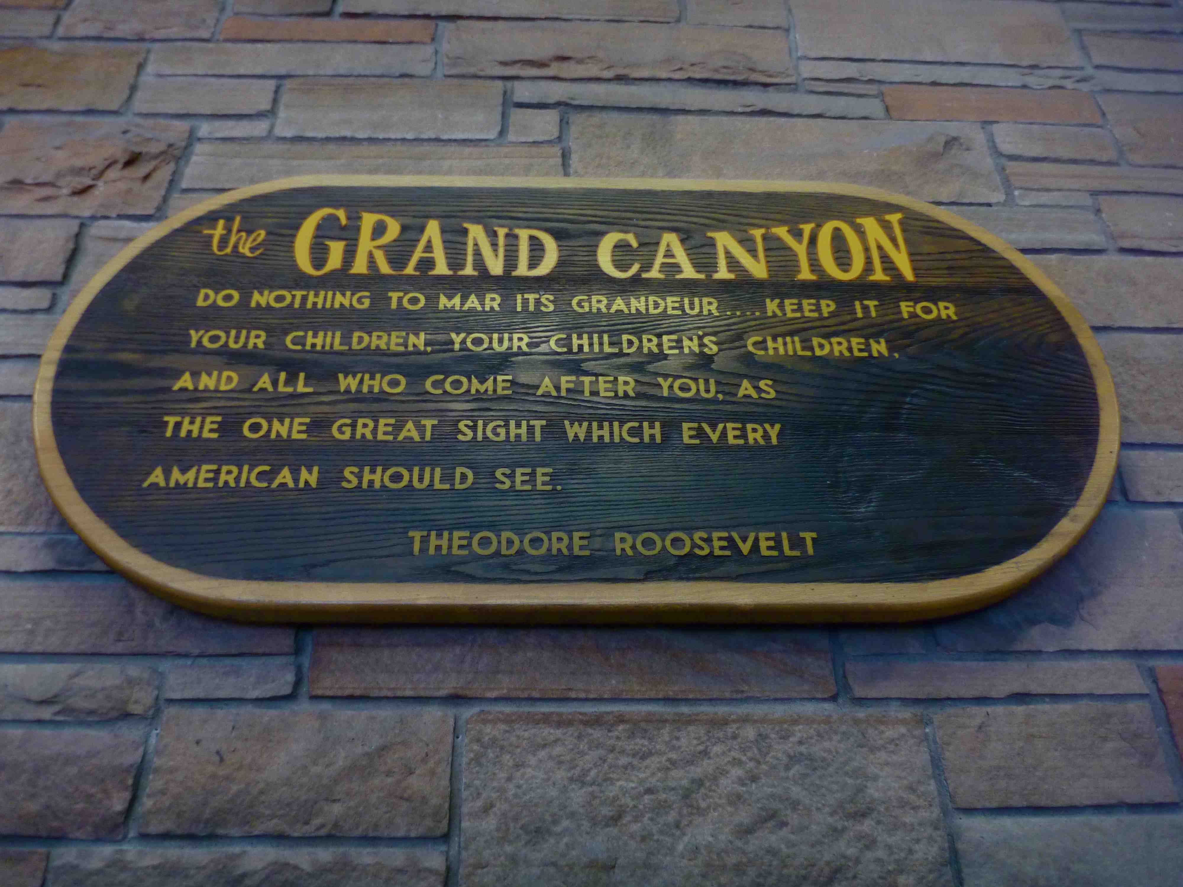 Canyon Quotes. QuotesGram Theodore Roosevelt Grand Canyon Quote