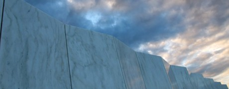 the Wall of Names on the final path of Flight 93