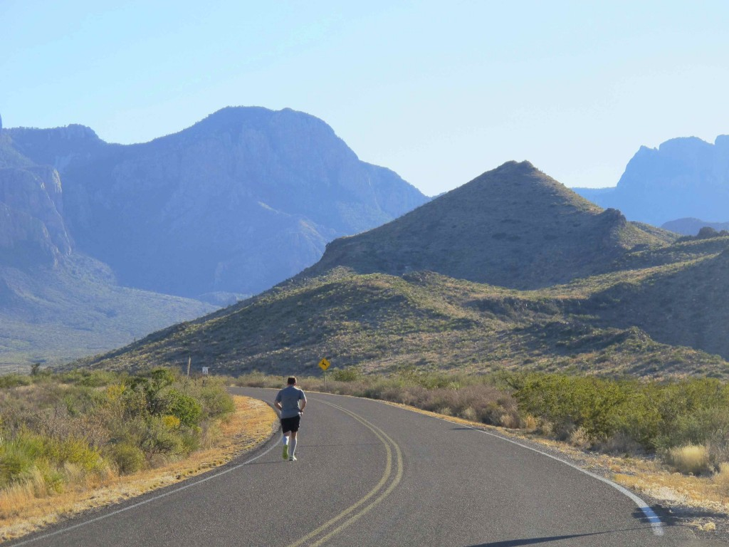 Chris decides to run final 6 miles (and 3,000-foot ascent) to Chisos Basin